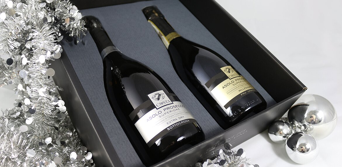 Immagine packaging natalizio Vini Costa
